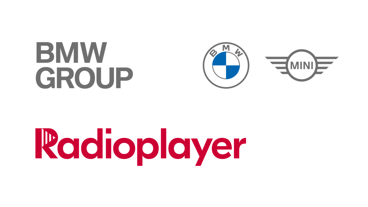 Radioplayer, BMW Group logos
