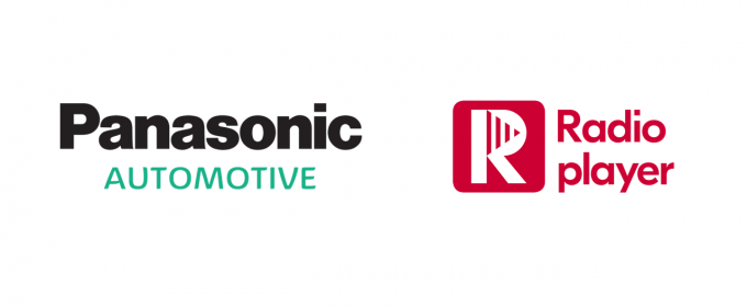 Panasonic and Radioplayer logos